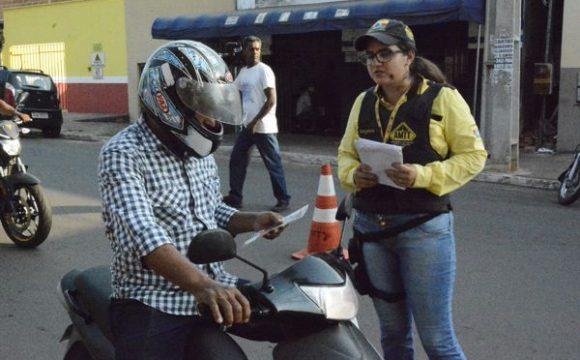 Blitzen conscientizam sobre acidentes no trânsito em Araguaína