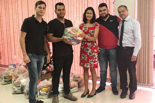 Assistidos da Defensoria serão beneficiados com cestas básicas de projeto universitário de Araguaína