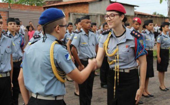 CPM realiza solenidade de entrega da boina azul e incorporação de uniformes em Araguaína