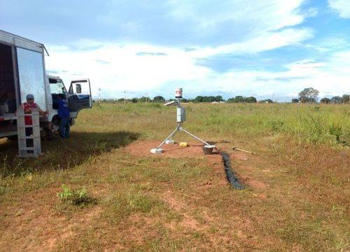 Araguaína já conta com quatro aparelhos pluviométricos