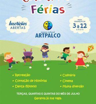 Colônia de Férias do Artpalco alia entretenimento à educação e cultura
