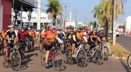 Pedalada ecológica leva conscientização ambiental pelas ruas de Araguaína