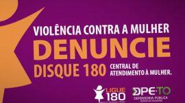 Violência contra a mulher: mais de 940 denúncias já foram feitas à DPE-TO esse ano