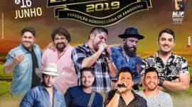 EXPOARA 2019 – Divulga atrações musicais