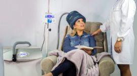 Novo equipamento ajuda a prevenir queda de cabelo durante o tratamento de quimioterapia