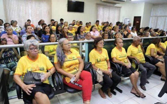 Comunidade participa de audiência pública sobre direitos do idoso