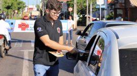 Cerest sensibiliza população sobre acidentes de trabalho em Araguaína