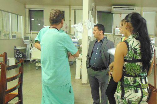 DPE-TO realiza vistoria no HRA e confirma suspensão de cirurgias por falta de medicamentos