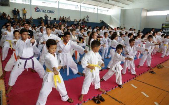 Mais de 130 atletas disputam a 2ª Copa Shotokan de Karatê Olímpico