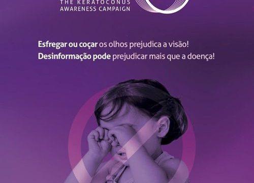 Junho violeta: Um mês voltado para a prevenção do ceratocone