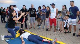 Maio Amarelo inicia com ações de sensibilização na Via Lago