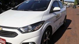 """Com números positivos, Prefeitura renova Campanha """"Vou de Táxi"""" na Expoara"""