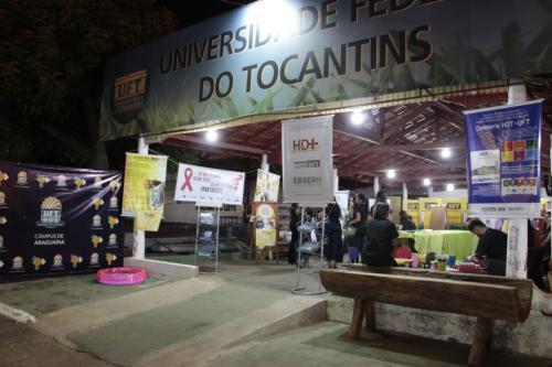 HDT-UFT participa da Exposição Agropecuária de Araguaína 2019 com ações educativas