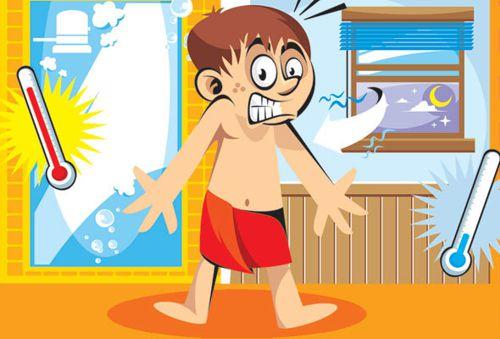 Choque de temperatura entre ambientes pode trazer riscos à saúde