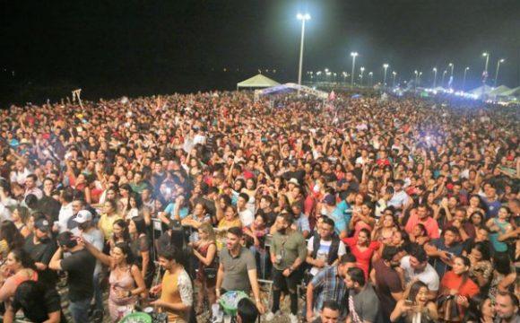 Mais de 25 mil pessoas festejam aniversário de Araguaína
